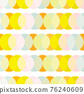 Simple geometric dots seamless background in pastel colors. Abstract repeating pattern of 76240609