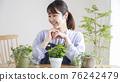 gardening, female, females 76242479