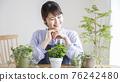 gardening, female, females 76242480