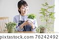 gardening, female, females 76242492