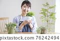 gardening, female, females 76242494