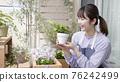 gardening, female, females 76242499