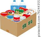 Stockpile emergency food 76244355