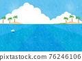 summer, blue water, marine 76246106