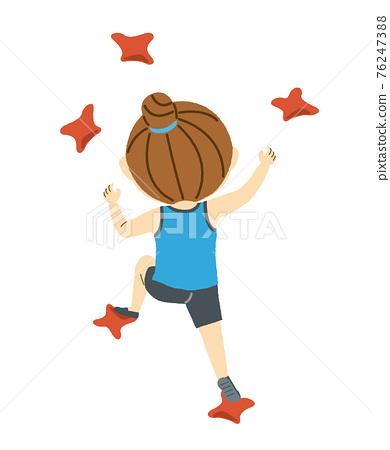 Speed climbing women 76247388