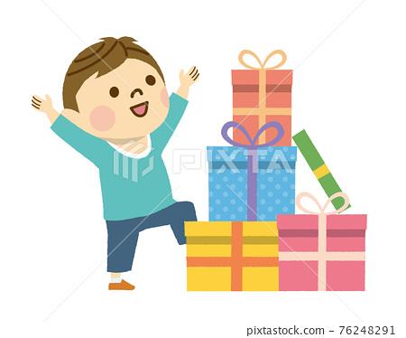 禮物 送禮 展示 76248291