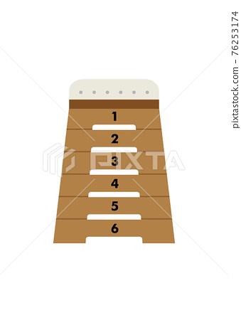 Illustration of the vaulting box 76253174