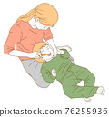 父母和小孩 親子 媽媽 76255936