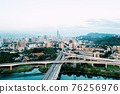 Taipei City Aerial View - Asia business concept 76256976