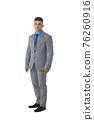 Portrait of business man in suit 76260916