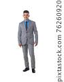 Portrait of business man in suit 76260920