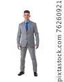 Portrait of business man in suit 76260921