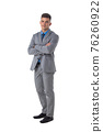 Portrait of business man in suit 76260922