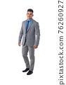 Portrait of business man in suit 76260927