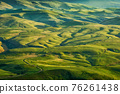 Background of hills at sunset 76261438