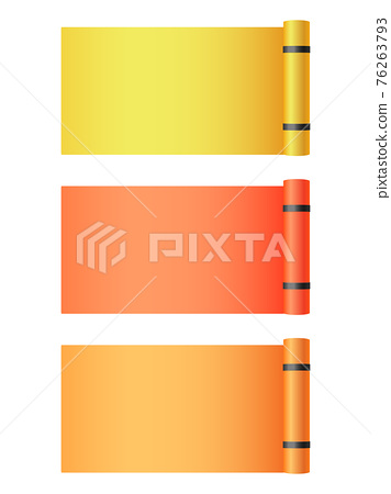 Template of mats for yoga exercises realistic vector illustration isolated. 76263793