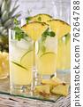 Cocktail Pineapple mojito 76264788