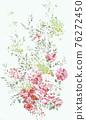 色彩豐富的花卉素材組合和設計元素 76272450