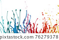 Abstract colored liquid background 76279378