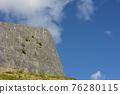 shuri castle, Okinawa, stone wall 76280115