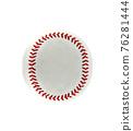 baseball isolated on white background 76281444