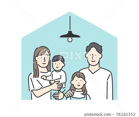 家庭 家族 家人 76282352