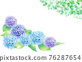 hydrangea, flower, flowers 76287654
