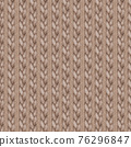 Beige gray realistic knitted seamless pattern. Watercolor hand paint cozy warm knit texture 76296847