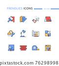 Repair - modern line design style icons set 76298998