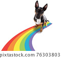 gay pride dog 76303803