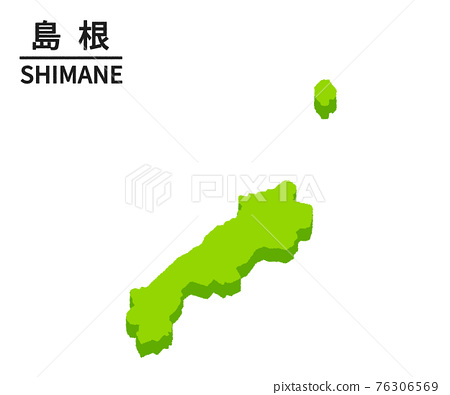 日本地圖 地圖 矢量 76306569