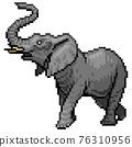 大象 動物 全身 76310956