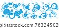 圓點漣漪夏季廣告背景 76324502