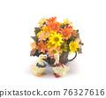 白色背景上的花盆動物飾品 76327616