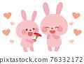 康乃馨 母親節 兔子 76332172