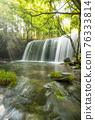 waterfall, Beam Of Light, fresh verdure 76333814