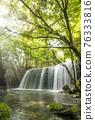 waterfall, Beam Of Light, fresh verdure 76333816