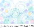 菊花 漣漪 波紋 76342879
