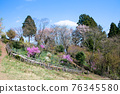 카오산 봄의 작은 부처님 성산 (こぼとけ 성산) 정상 꽃밭 76345580