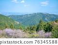 카오산 봄의 작은 부처님 성산 (こぼとけ 성산) 카오산과 도심 방면의 전망 76345588