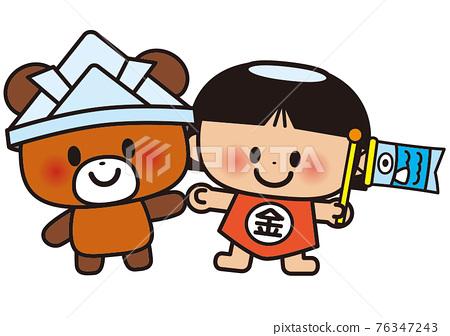 Bear and Kintaro 76347243