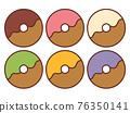甜甜圈 糖果 甜食 76350141