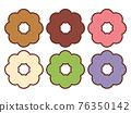甜甜圈 糖果 甜食 76350142