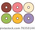 甜甜圈 糖果 甜食 76350144