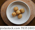 Asian food fish paste, oden 76351603