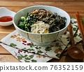 Bibimbap, Korean traditional food 76352159