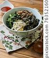 Bibimbap, Korean traditional food 76352160