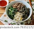 Bibimbap, Korean traditional food 76352172
