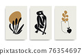 Contemporary Henri Matisse abstract vector art poster 76354697