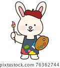 rabbit, hare, pretty 76362744